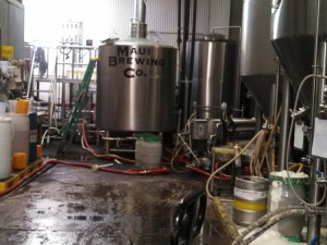 Mash Tun and Temperature Controlled Ale Fermenting Tanks