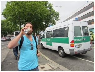 Drinking in Public in Germany