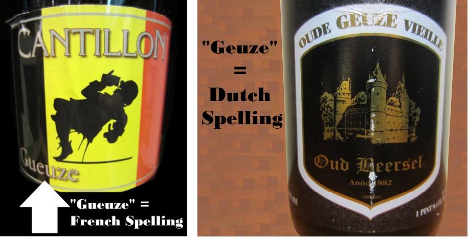 geuze spelling