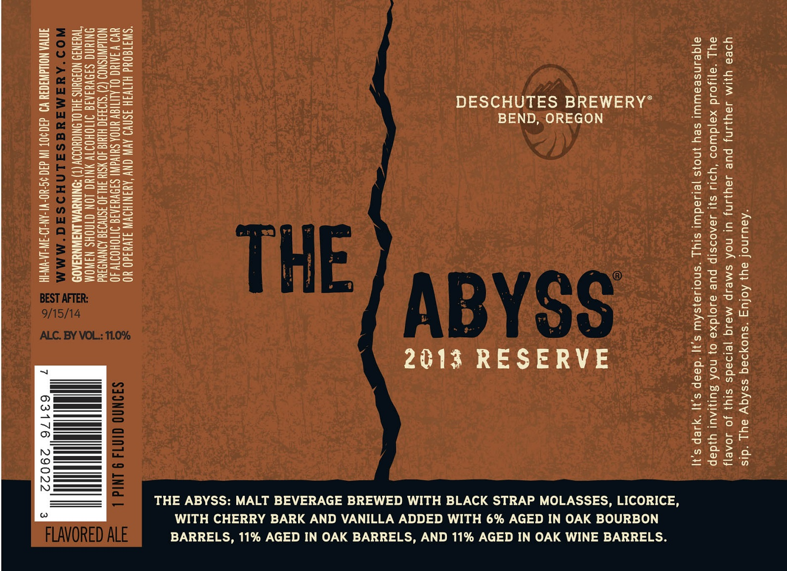 The Abyss - Deschutes Brewery