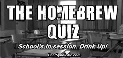 The Homebrew Quiz