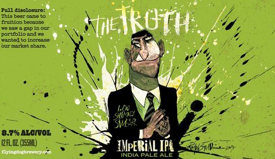 The Truth Imperial IPA - Flying Dog Brewery