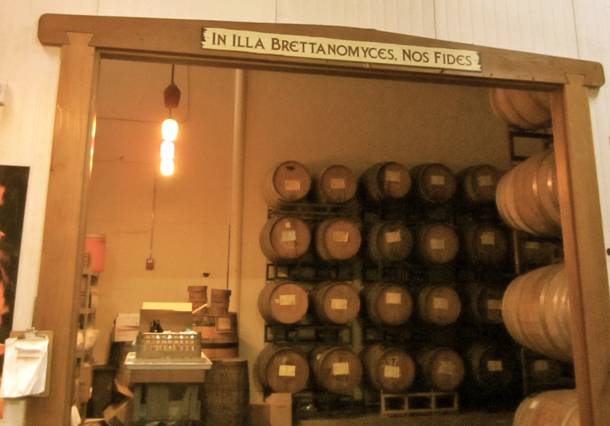 The Lost Abbey Barrel Room