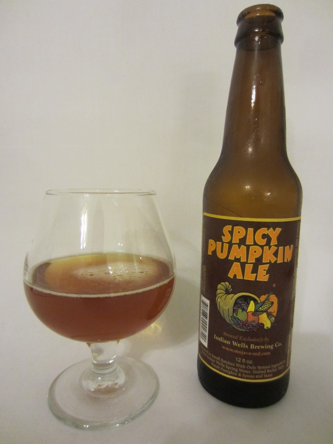 Spicy Pumpkin Ale - Indian Wells Brewing Company