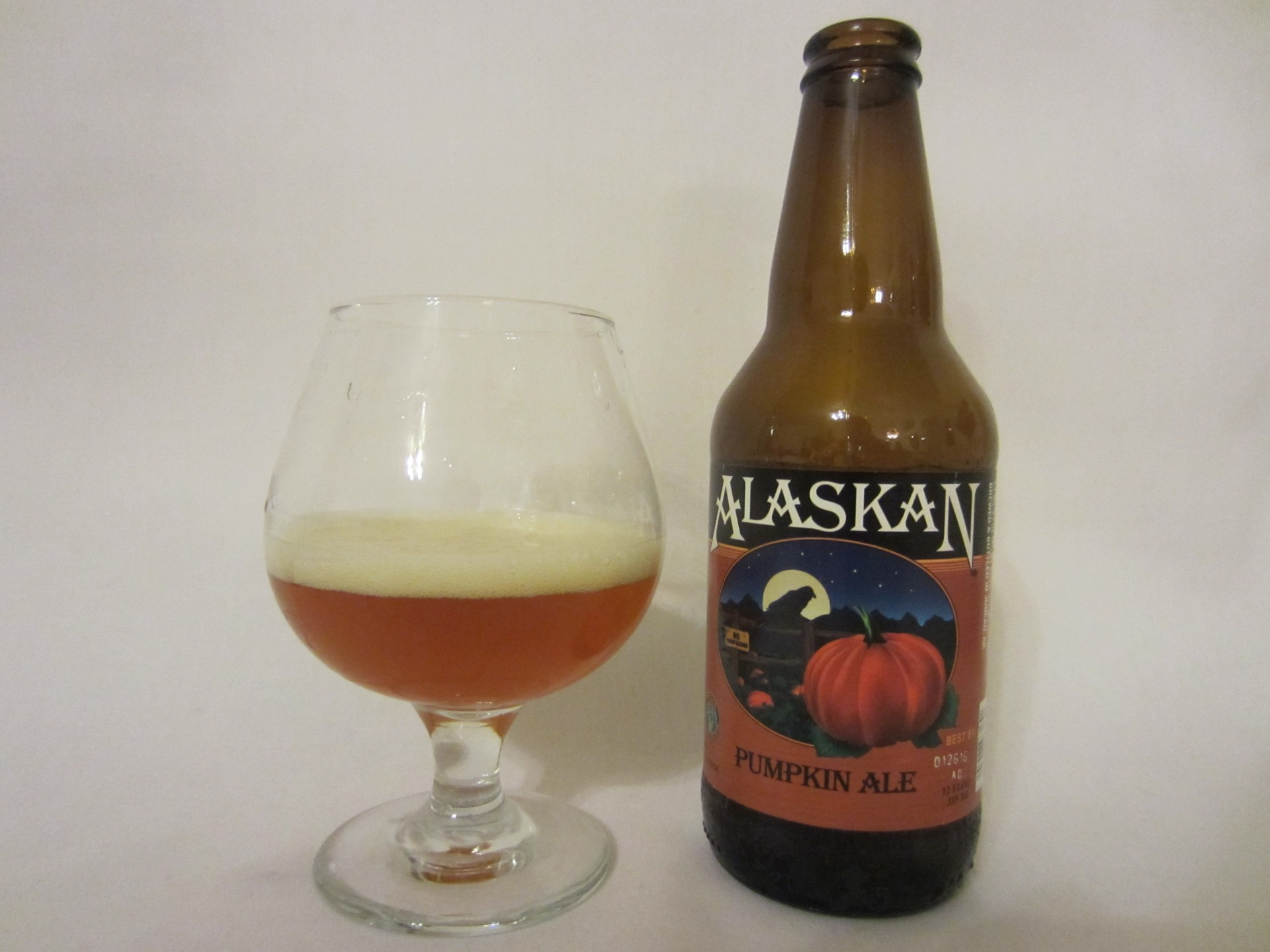 Alaskan Pumpkin Ale (2015) - Alaskan Brewing Co.
