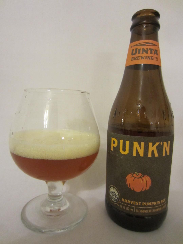Punk'n Harvest Pumpkin Ale - Uinta Brewing Company
