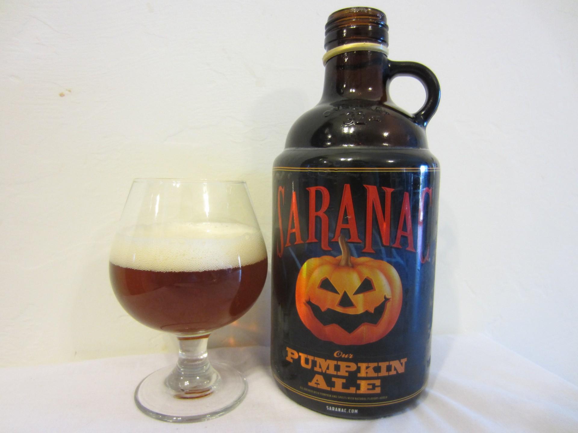 Saranac Pumpkin Ale - Matt Brewing Company / Saranac Brewery