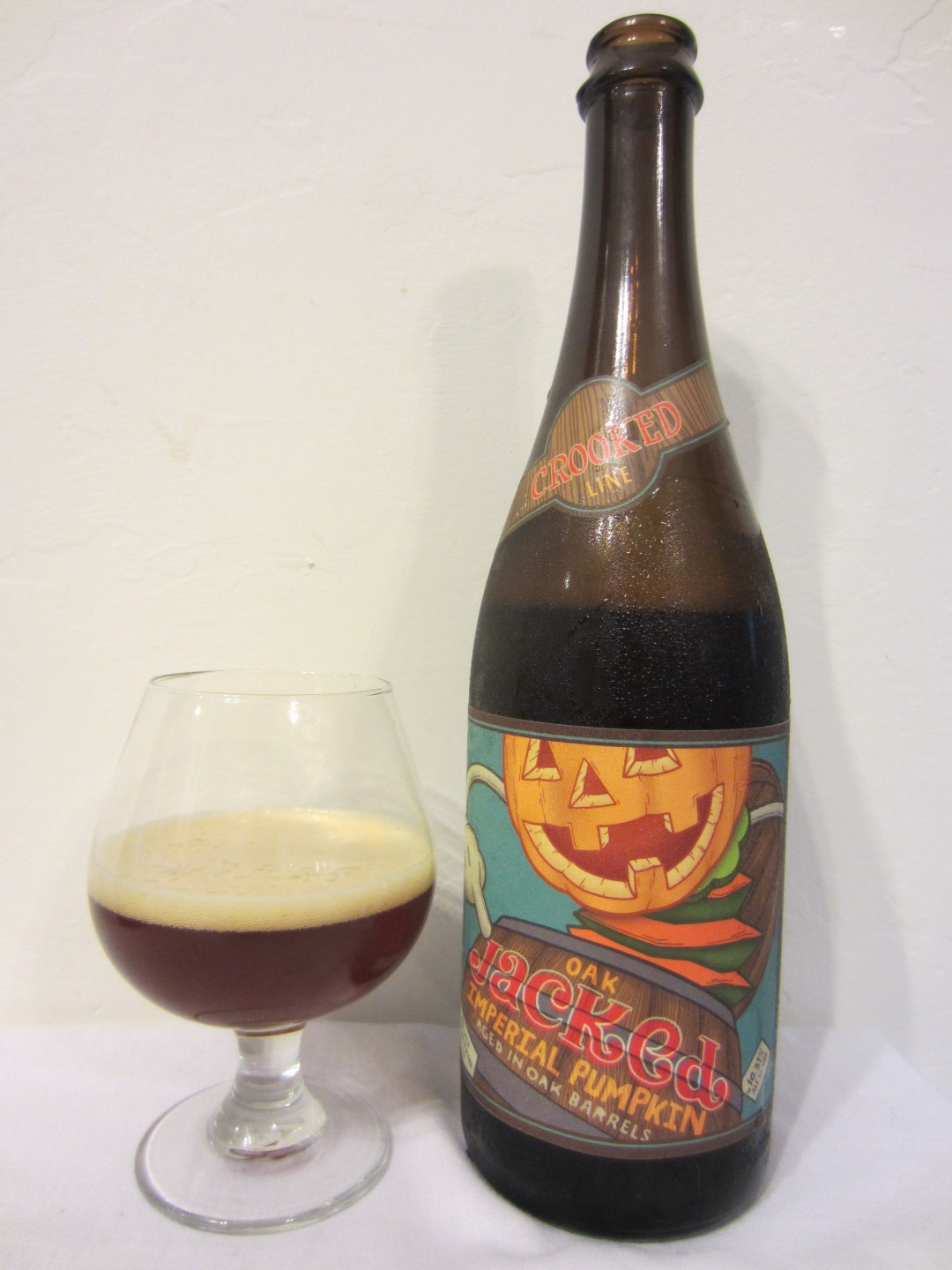 Oak Jacked Imperial Pumpkin Ale - Uinta Brewing Company