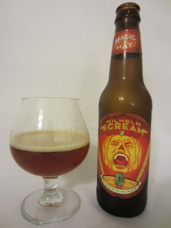 Wilhelm Scream Pumpkin Ale - Magic Hat Brewing Company
