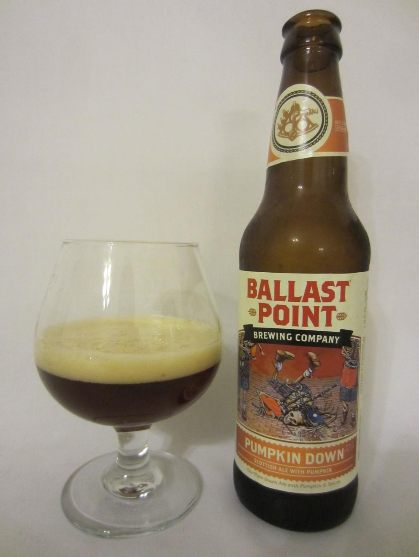 Pumpkin Down - Ballast Point Brewing Company