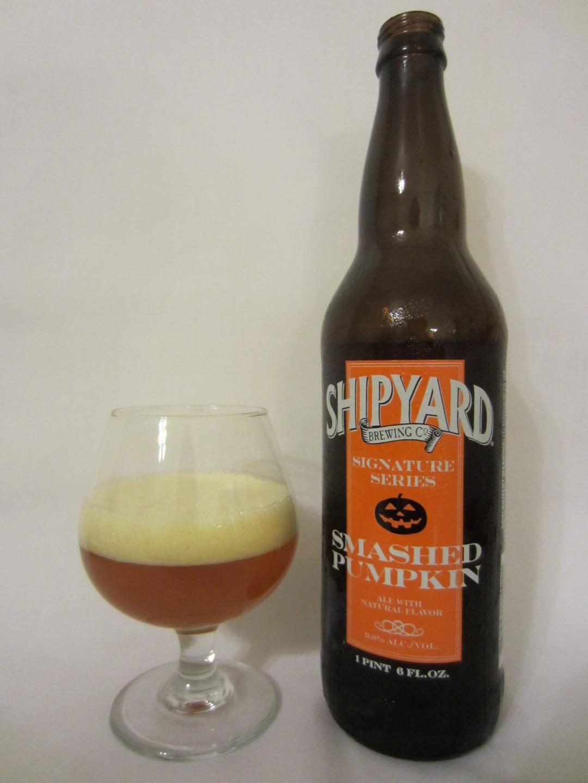Shipyard Smashed Pumpkin - Shipyard Brewing Co.