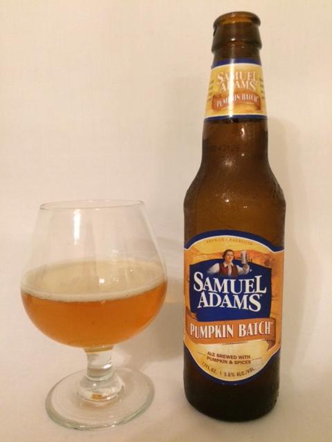 Samuel Adams Pumpkin Batch