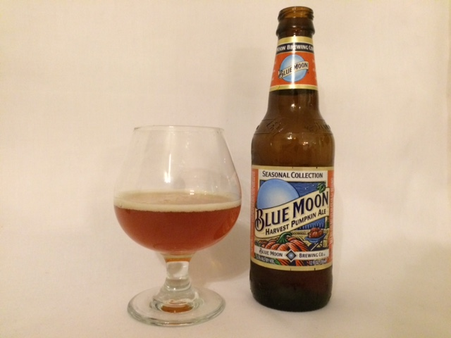 Blue Moon Harvest Moon Pumpkin Ale - Coors Brewing