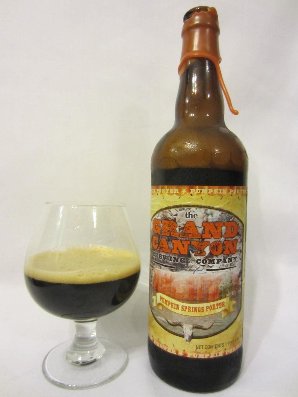 Pumpkin Springs Porter - Grand Canyon Brewing Company