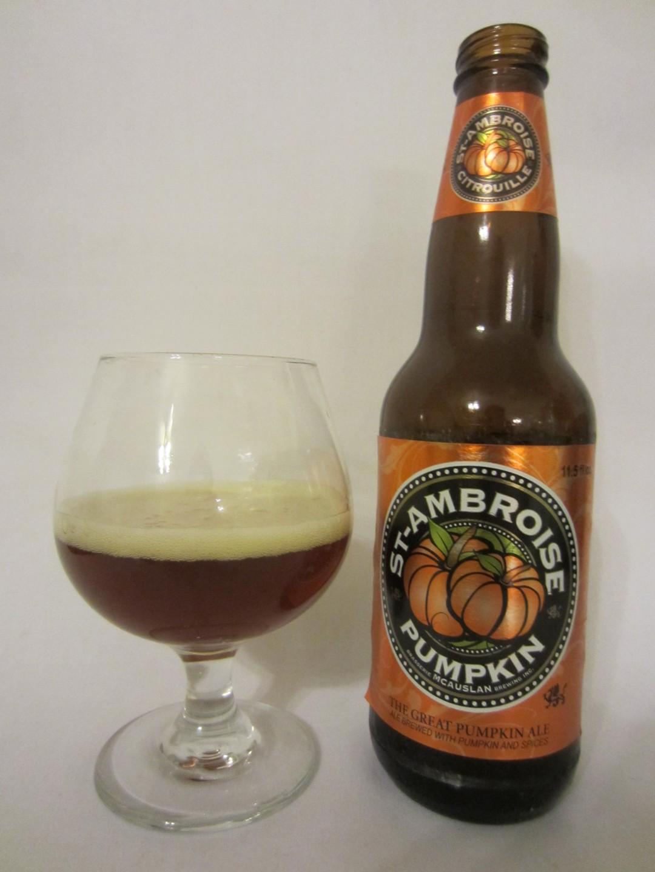 St-Ambroise Citrouille (The Great Pumpkin Ale) - McAuslan Brewing