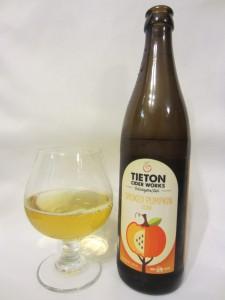 Tieton Cider Works Smoked Pumpkin Cider