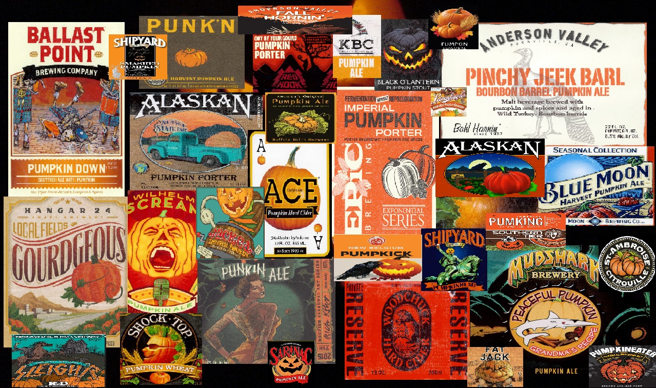 Pumpkin Beer Labels