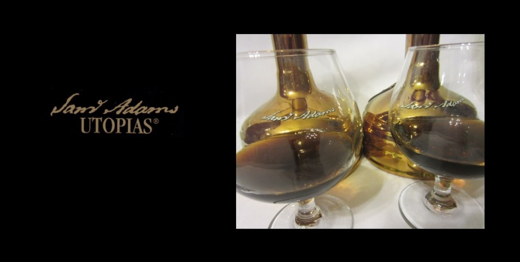 Samuel Adams Utopias 2013 and 2015