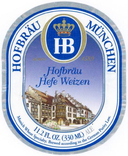 Hofbräu München Hefe Weizen - Hofbräuhaus München