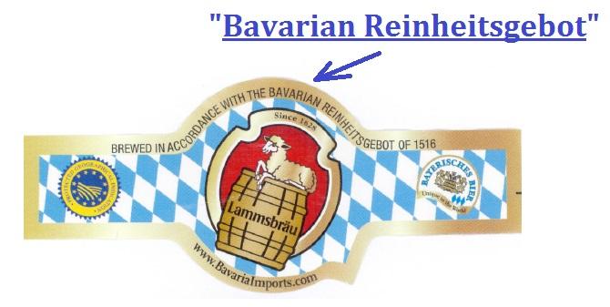 Bavarian Reinheitsgebot