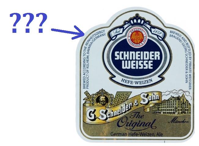 Schneider Weisse Label