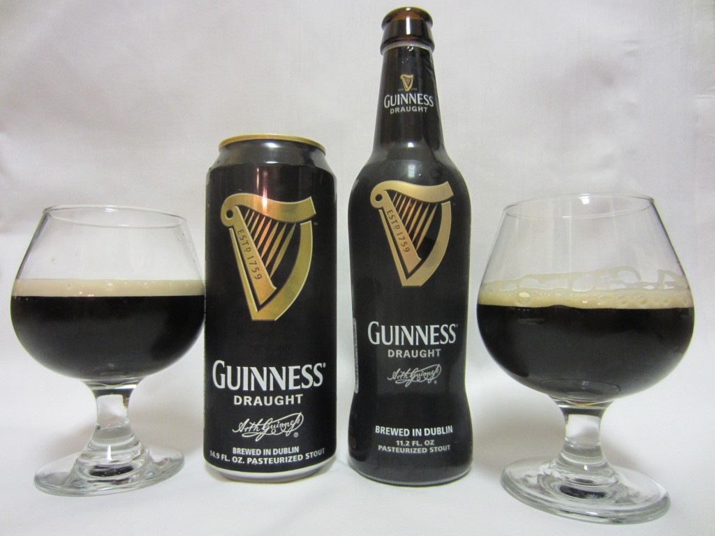 Guinness Draght- Can vs. Bottle