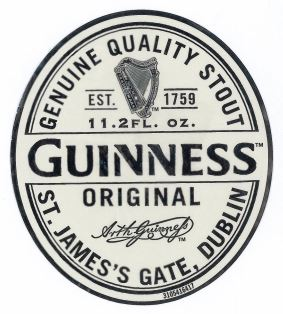 Guinness Original Label
