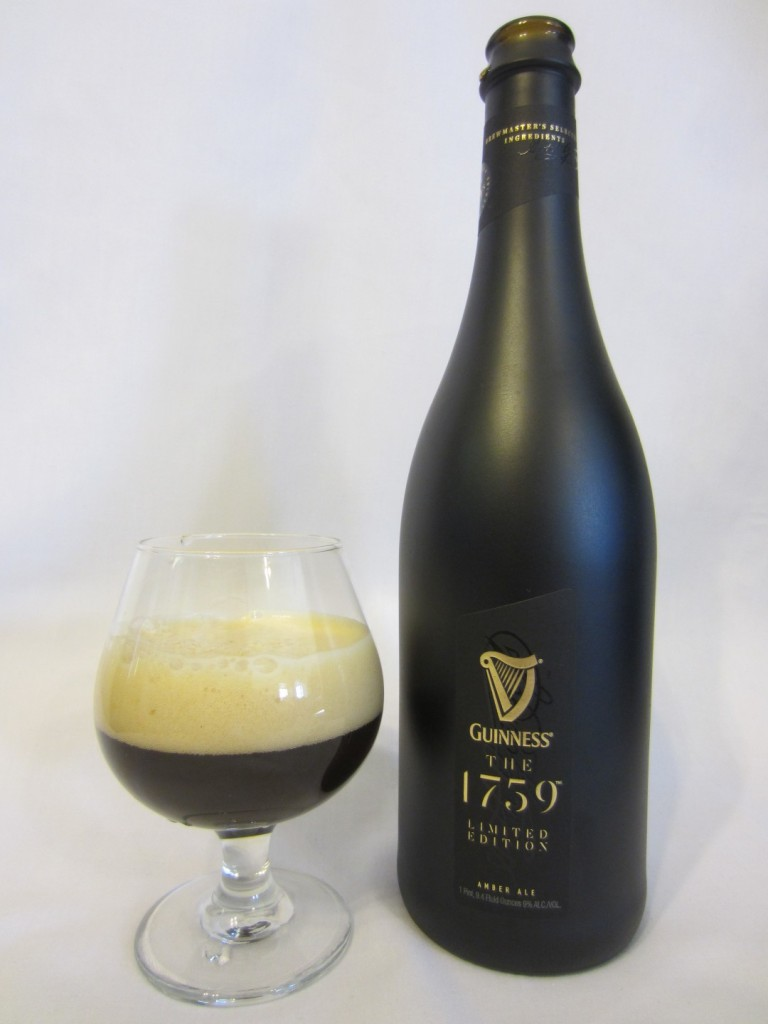 Guinness The 1759 in a glass