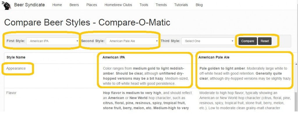 Compare-O-Matic Screen Shot