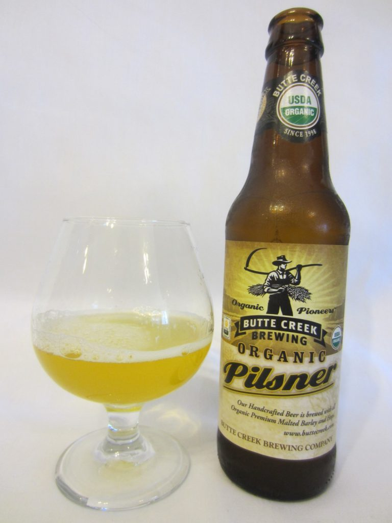 Butte Creek Organic Pilsner (Butte Creek Brewing Company)