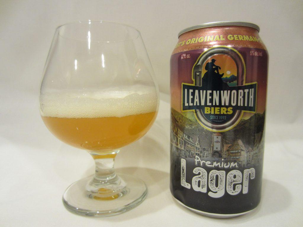 Leavenworth Premium Lager (Fish Brewing Company)