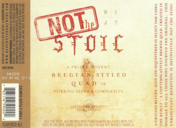 Not The Stoic (2015 Vintage)