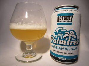 Palm Tree Caribbean Lager (Odyssey Beerwerks)