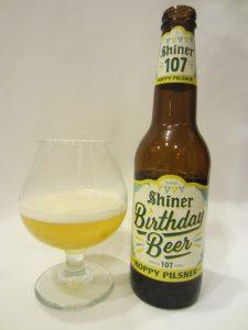 Shiner Birthday Beer 107 - Hoppy Pilsner (Spoetzl Brewery/Shiner)