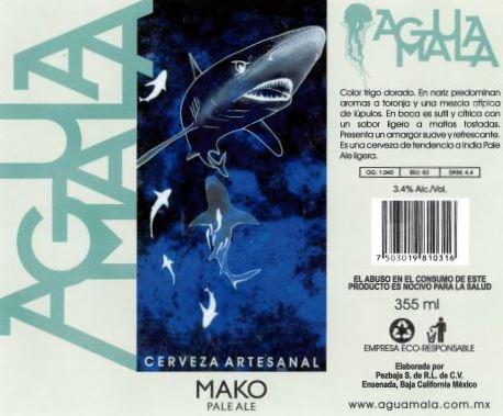 Mako Pale Ale - Agua Mala