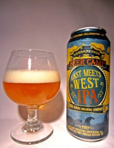 East Meets West IPA: (Sierra Nevada & Tree House)
