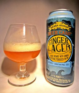 Ginger Lager: (Sierra Nevada & Surly Brewing Co.)
