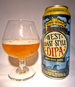 West Coast Style DIPA: (Sierra Nevada & Boneyard)