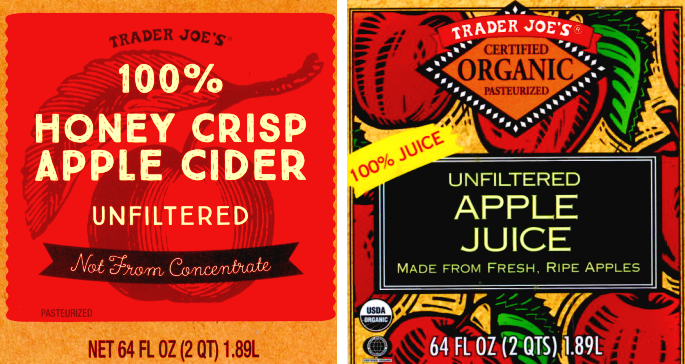 Trader Joe's Apple Juice