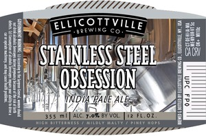 Ellicottville Brewing CompanyStainless Steel Obsession