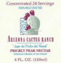 Arizona Cactus Ranch Prickly Pear Nectar (Concentrated)