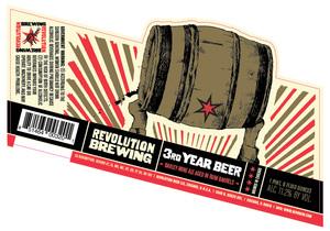 Revolution Brewing 3rd Year Beer