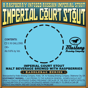 Mustang Brewing Company Imperial Court