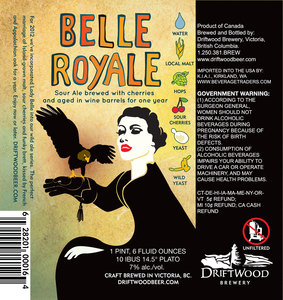 Driftwood Brewery Belle Royale