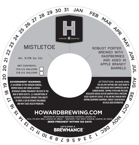 Howard Brewing Mistletoe