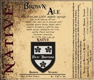 Neshobe River Company Brown Ale