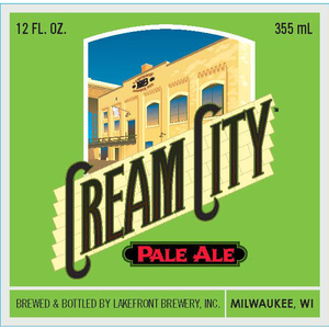Lakefront Brewery Cream City Pale