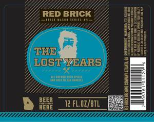 Red Brick Brewing Co. The Lost Years