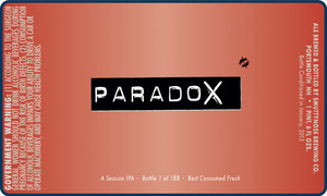 Smuttynose Brewing Co. Paradox