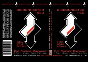 Big Choice Brewing Disconnected